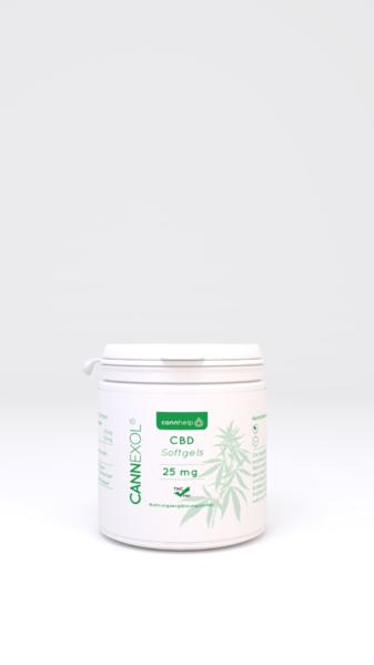 Cannexol Softgels 5% CBD Nahrungsergänzung