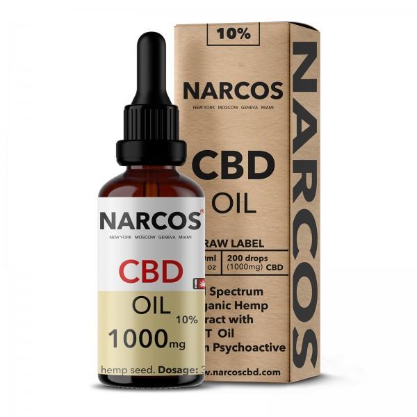NARCOS® CBD Hanföl 10% 10ml