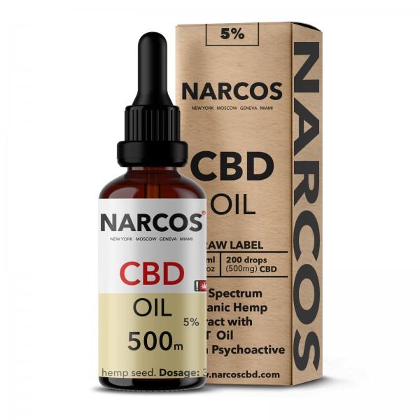 NARCOS® CBD Hanföl 5% 10ml