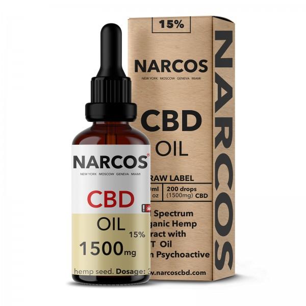 NARCOS® CBD Hanföl 15% 10ml